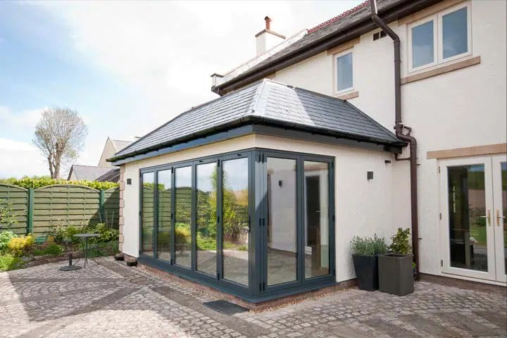 RIBA Altrincham Architects Contemporary Glazed Orangery Extension