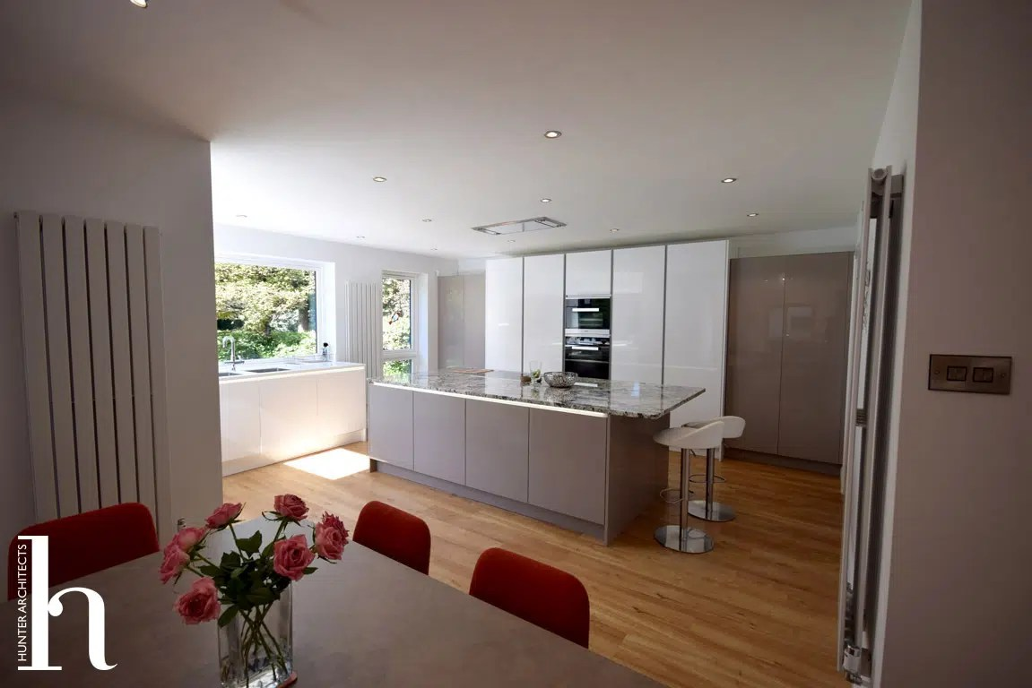 Contemporary House Extension RIBA Architects in Altrincham Cheshire