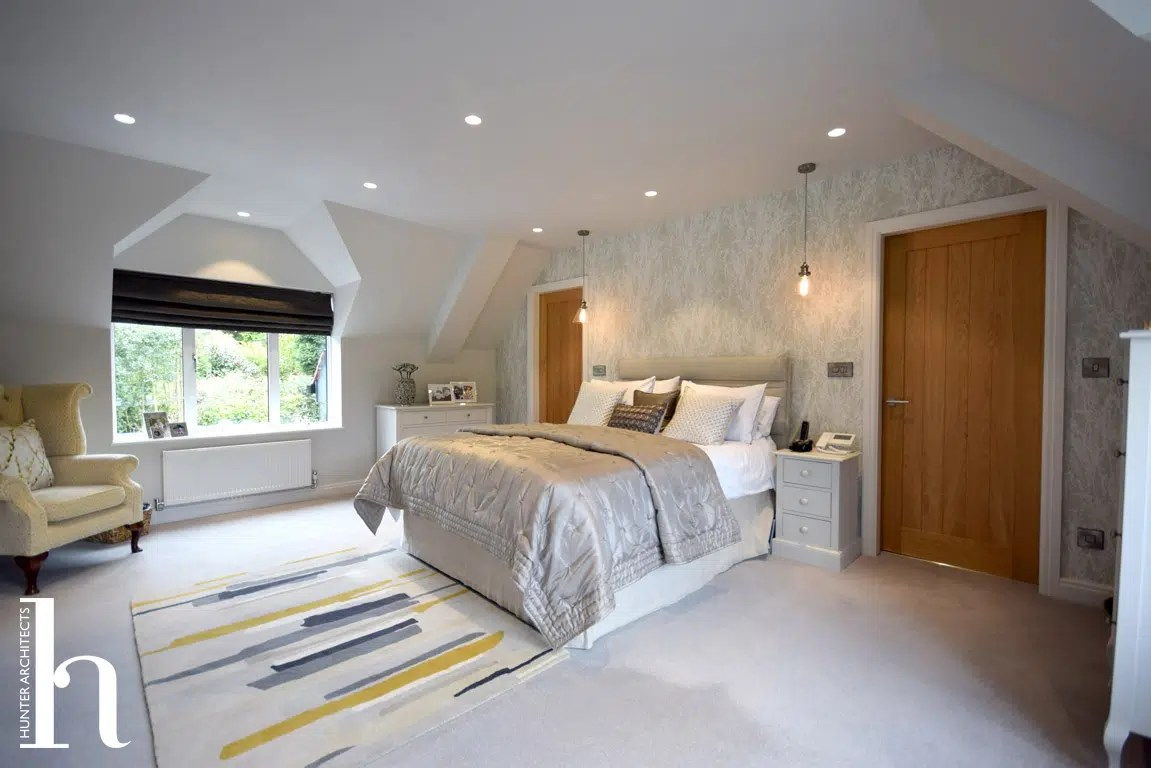 Master Bedroom design in Cheshire