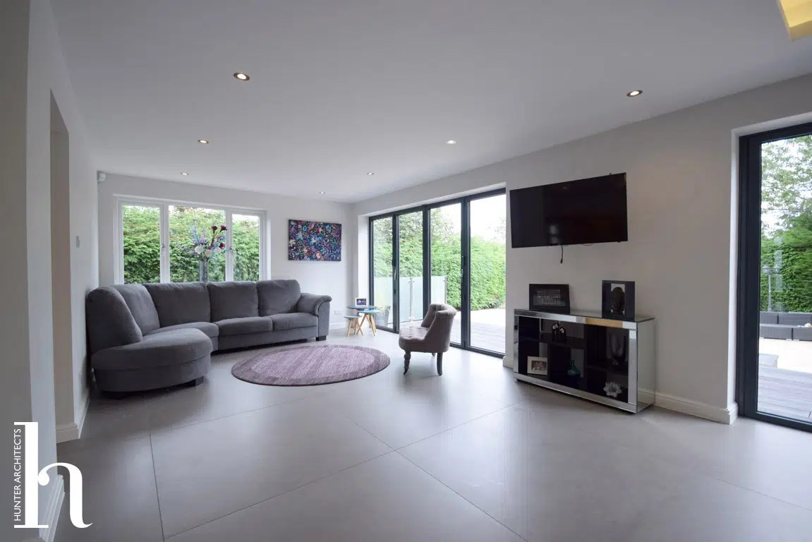 Contemporary House Extension RIBA Architects in Worsley