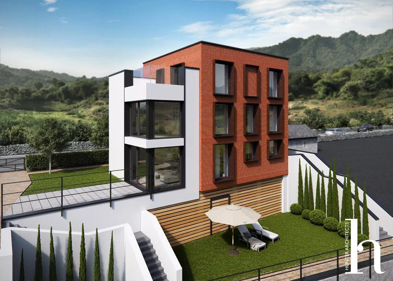 Bespoke Environmentally Friendly Home Self Build Architects Denbighshire