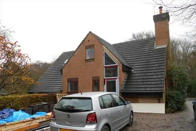 Bungalow roof extension to create new front entrance planning permission