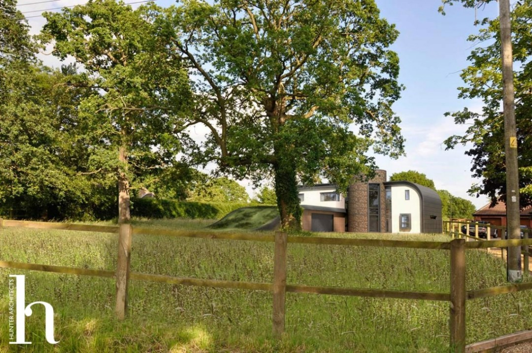 Innovative Carbon Neutral Home in Breckland