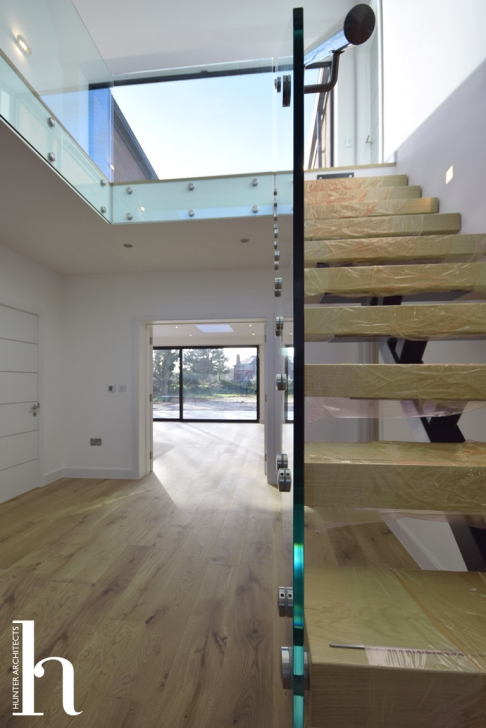 Contemporary Minimal Staircase by RIBA Architects Cheshire