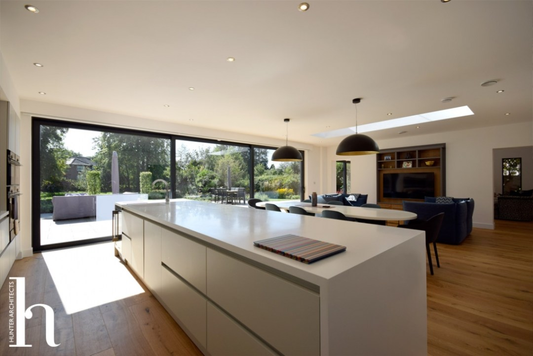 Cheshire contemporary kitchen room
