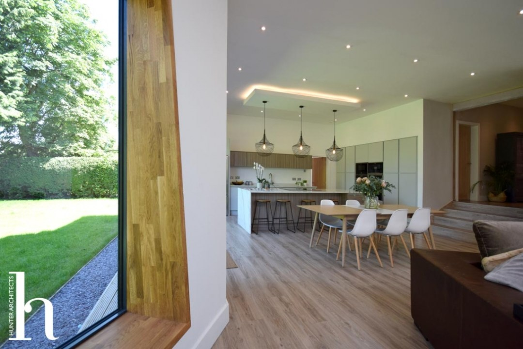 Altrincham family room house extension