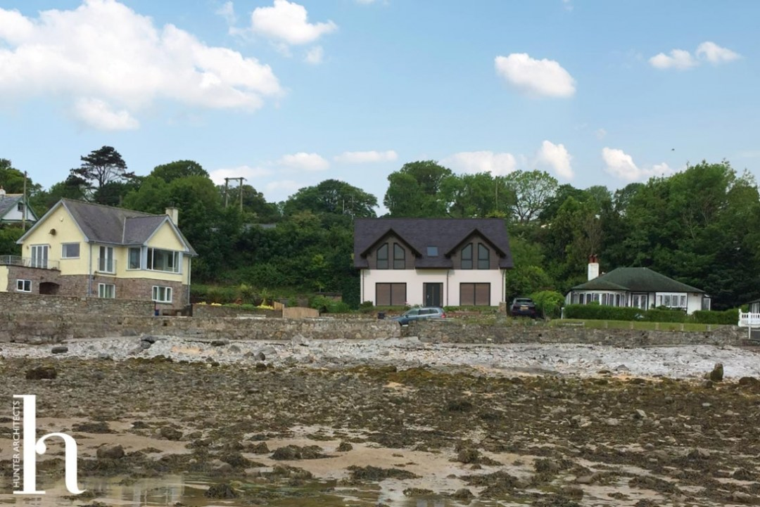 Anglesey replacement dwelling house proposed