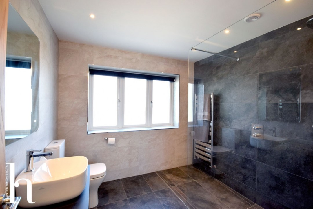 house extension family bathroom