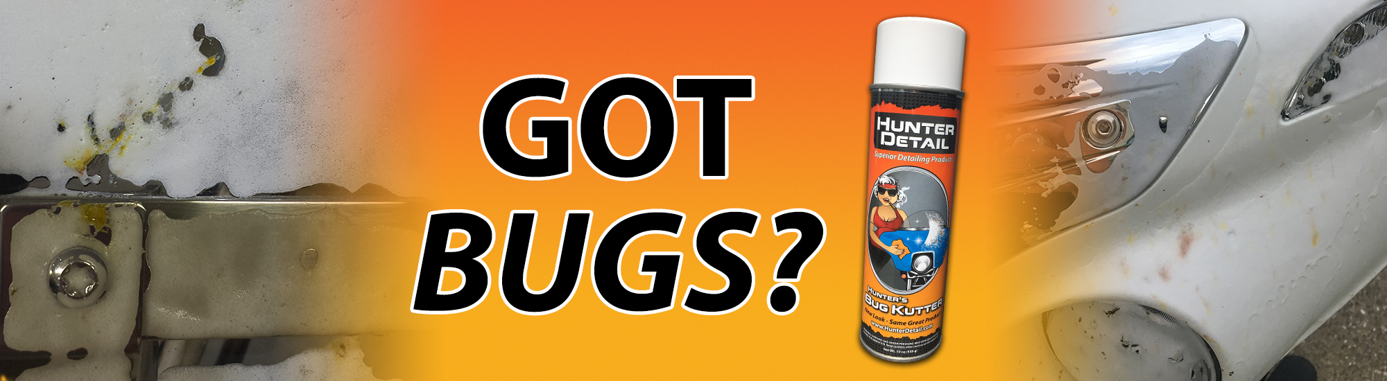 Got Bugs? No Problem with Hunter's Bug Kutter