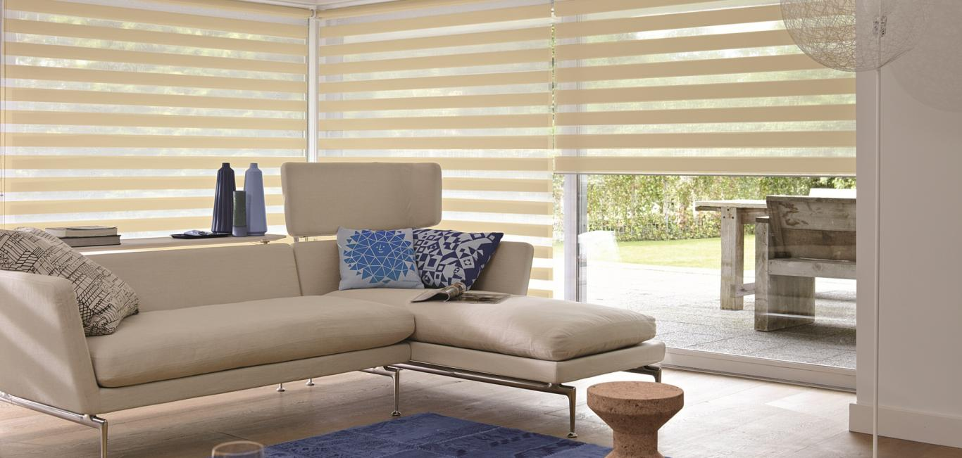 Galera Cortinas Twinline  Cortinas Enrollables  Hunter