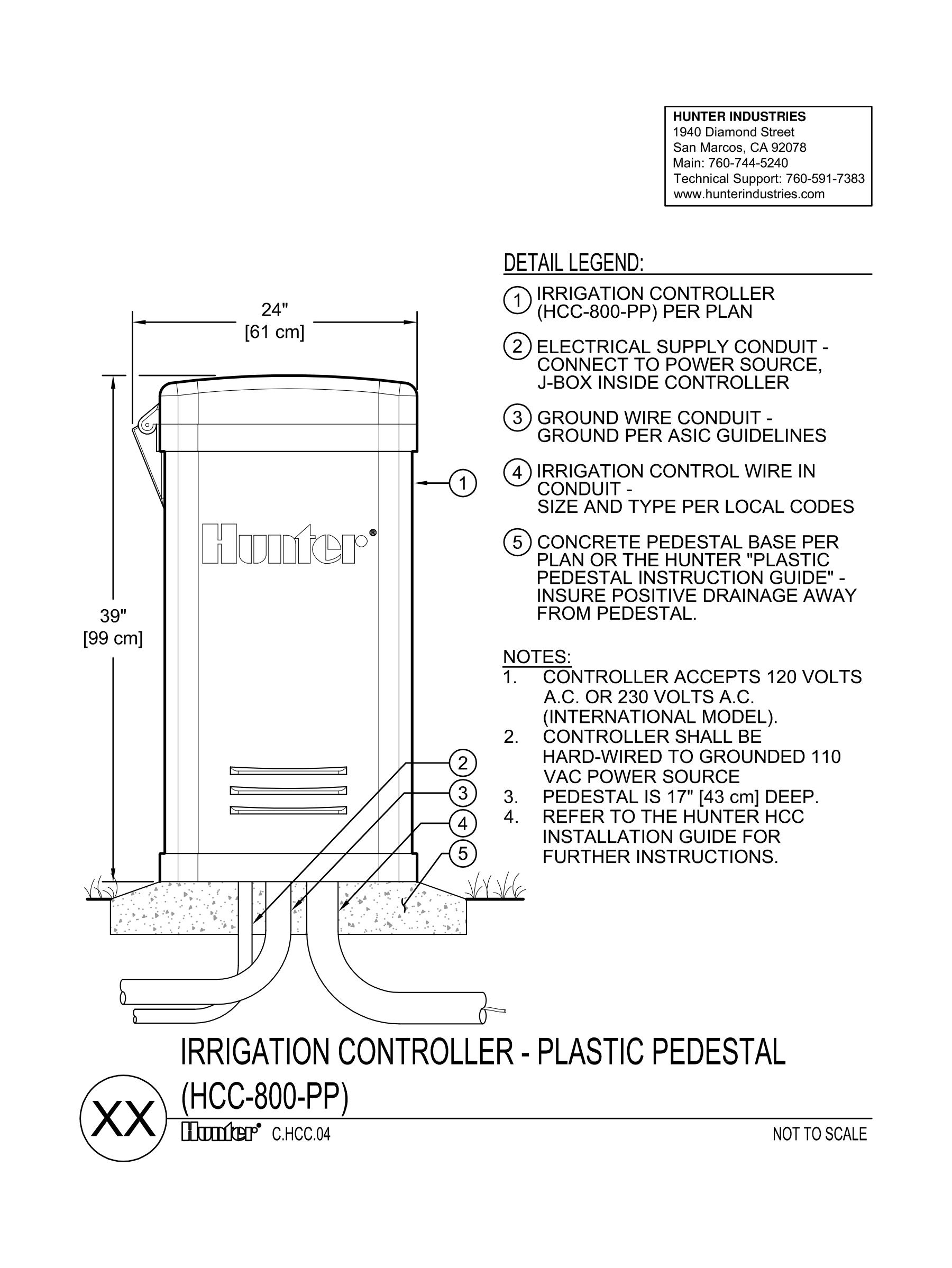 hight resolution of cad hcc controller plastic pedestal