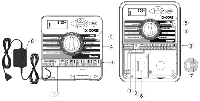 hunter xcore sprinkler wiring diagram