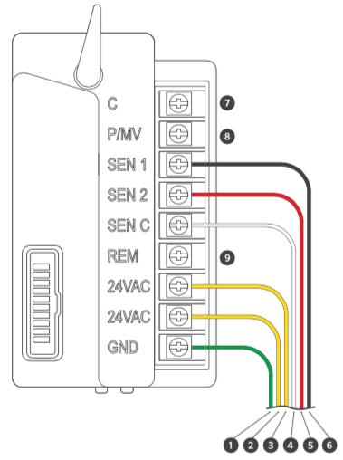HCC - Power Module Wiring Diagram