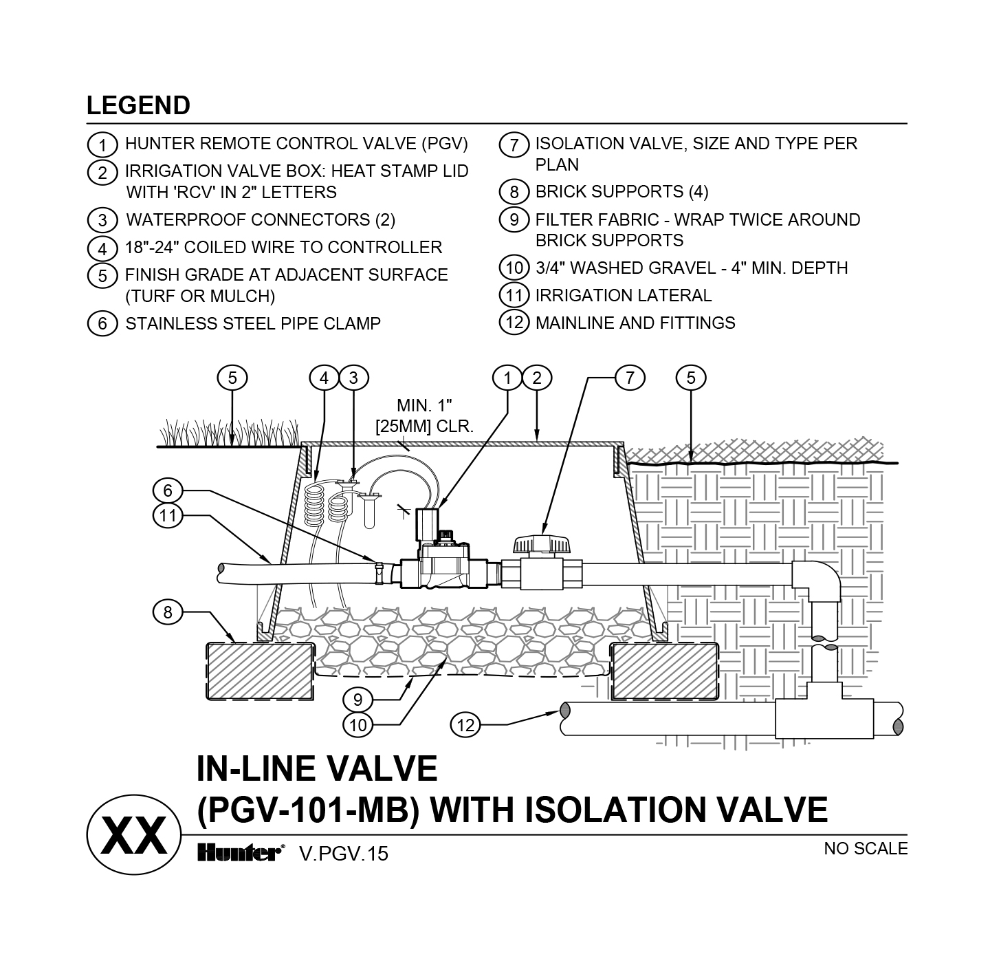 hight resolution of cad pgv 101 mb with unions and shutoff valve