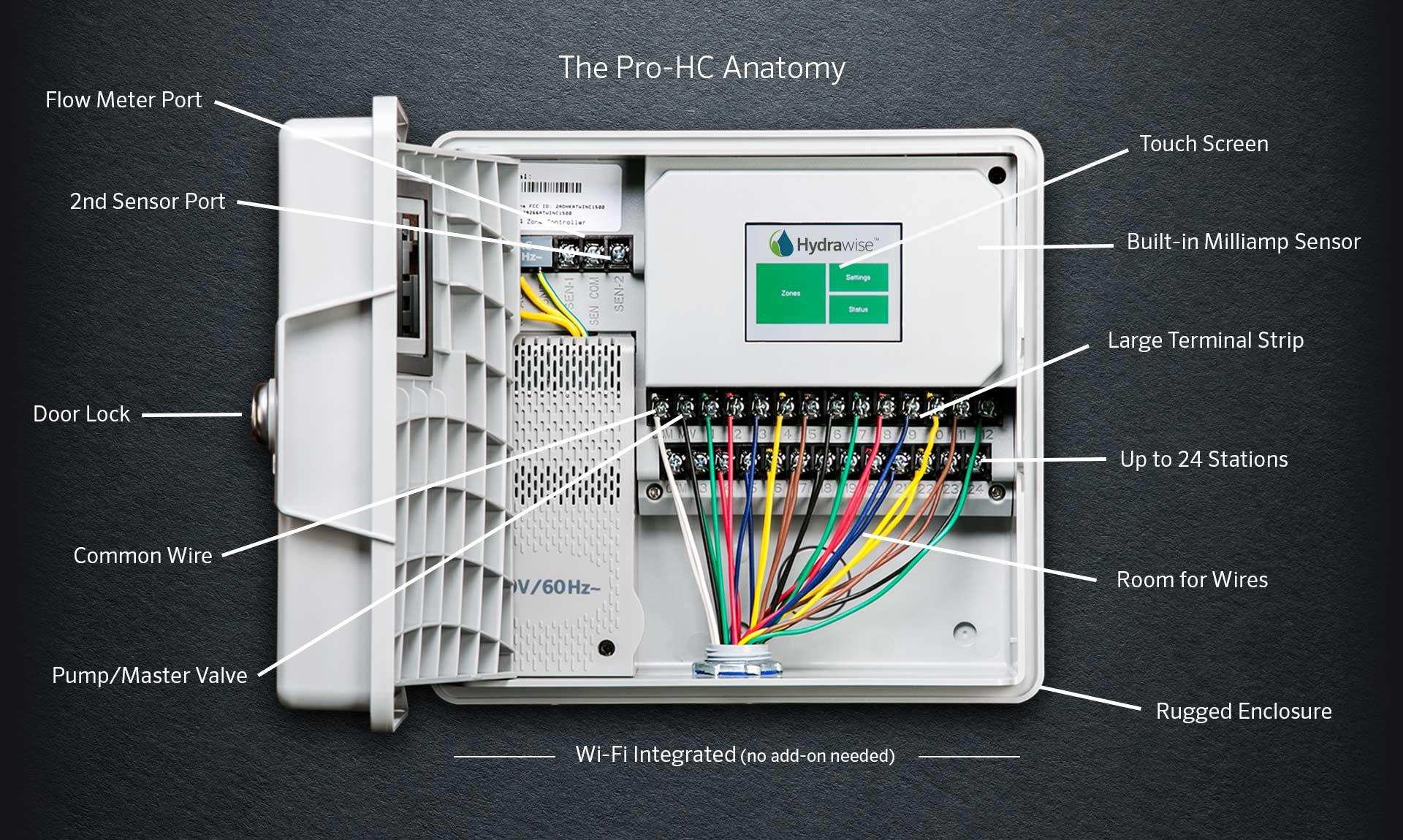 hunter pro c sprinkler system wiring diagram 2004 chevy impala bcm hc industries