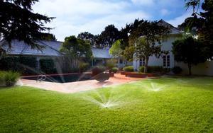 hunter university irrigation design