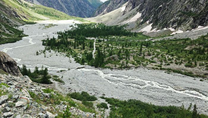 Glacier-valley