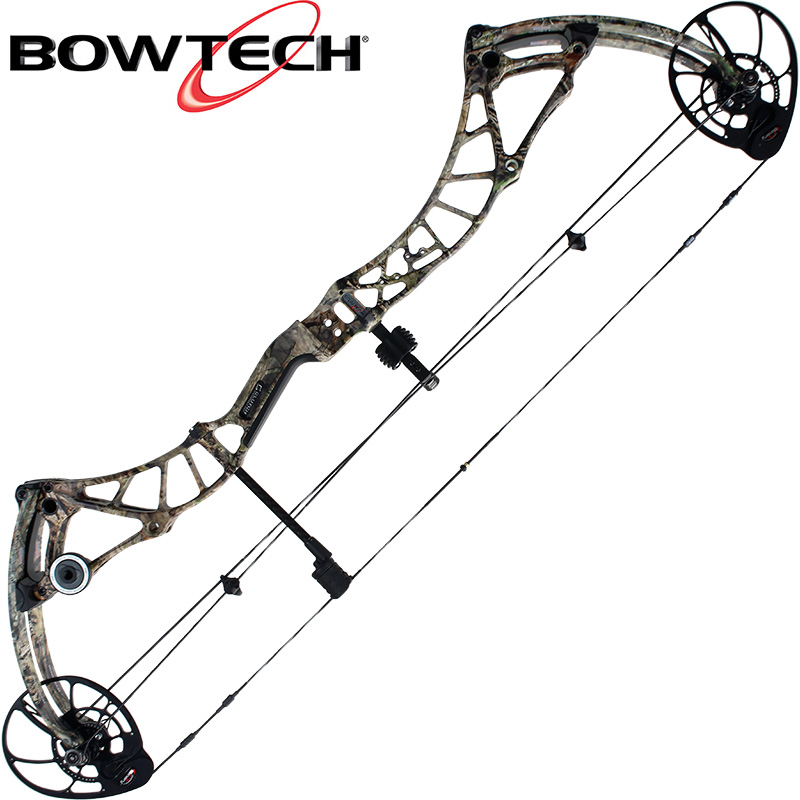 2018 Bowtech Realm X, Bow Only, LH 50-60#, Mossy Oak Country