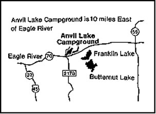 Chequamegon-Nicolet National Forest-Anvil Lake Campground