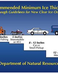 Remember that these thicknesses are merely guidelines for new clear solid ice many factors other than thickness can cause to be unsafe also welcome the official webpage of huntfishnyoutdoors rh