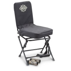 Swivel Chair Amazon Plastic Outdoor Guide Gear Hunting Blind Low Price