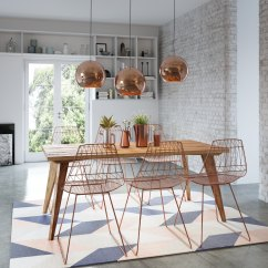 Retro Dining Room Table And Chairs Metal Garden 2 Handmade Tables  Hunting