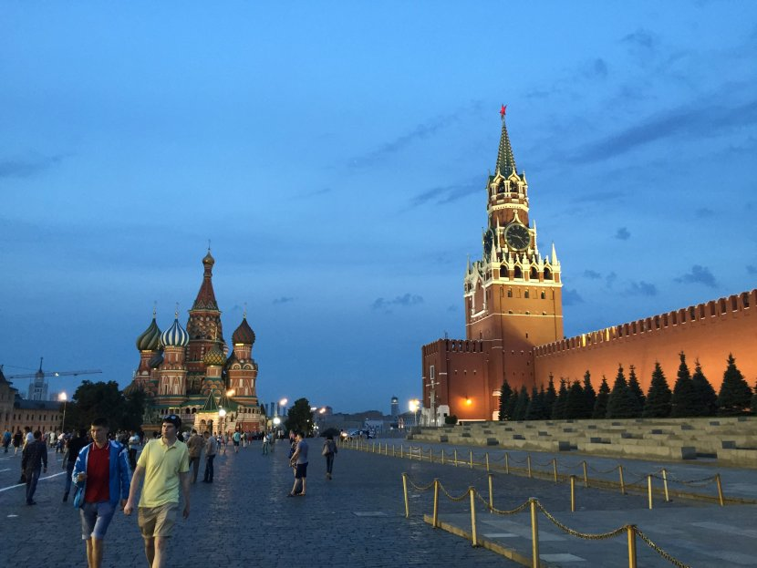 Red Square, Moscow,