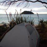 Tonga Quarry, Abel Tasman National Park, New Zealand, Coast Track, Camping, Tent