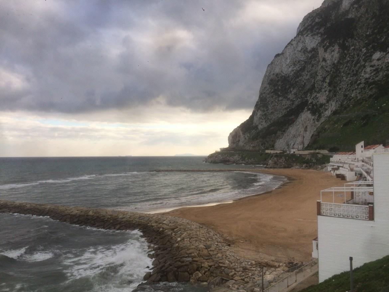 beach, Gibraltar