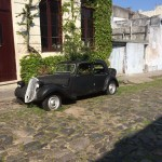 Uruguay, old car, old town