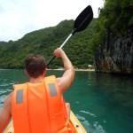 Kayaking in Caramoan