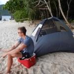 Camping on Matukad Island