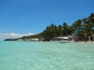Turquoise water, Boracay