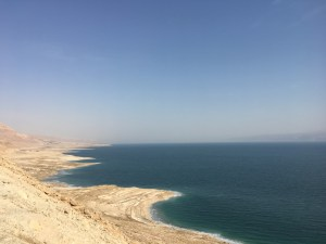 Dead Sea, viewing point, desert