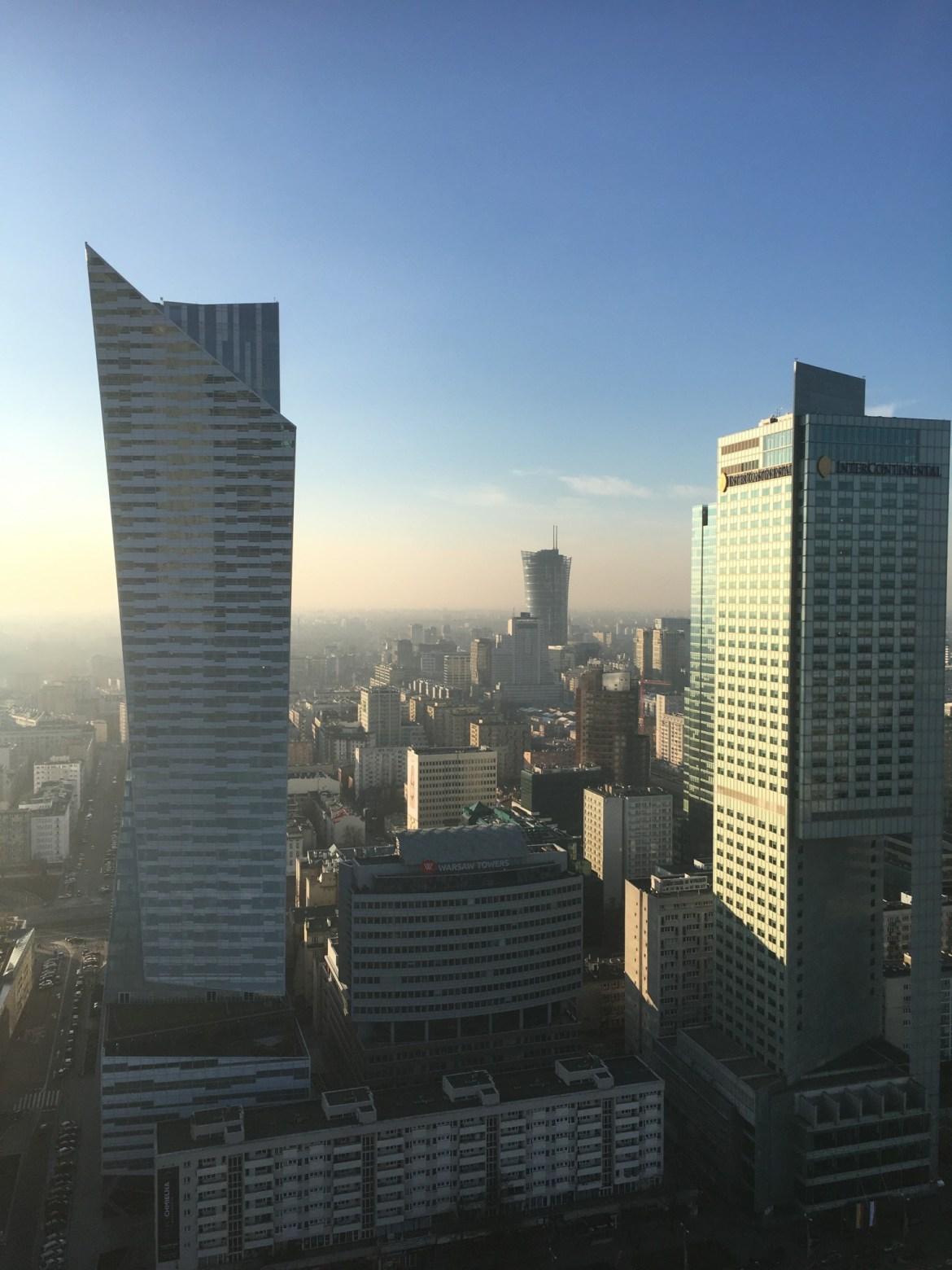 Skyline, Warsaw