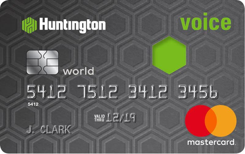 Credit Card Apply Online Voice From Huntington