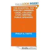 BOOK NOTES: Three 'Essential Ten Percent Series' Books By Philip Yaffe Now in Omnibus Edition