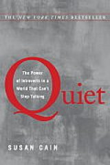 BOOK REVIEW: 'Quiet': Cherishing the Invaluable Contributions of Introverts in an Extrovert World