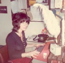 A very young me and my IBM Selectric