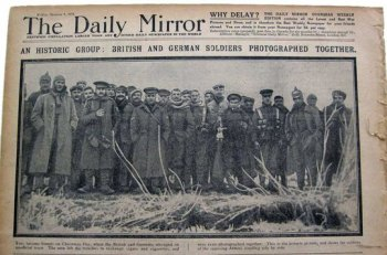 OP-ED: What the Soldiers Did on Christmas 98 Years Ago