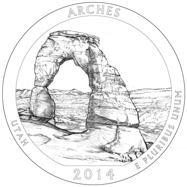 United States Mint Announces 2014 America the Beautiful