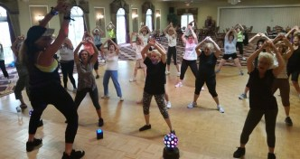Zumba Class in the Ballroom