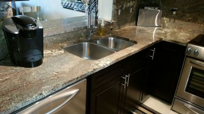 Condo Kitchen Counter Top