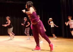 Zumba in the Theater