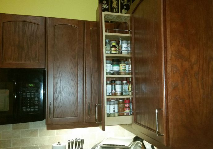 Capri Kitchen Cabinet
