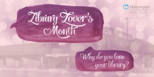 HCTPL Library Lovers' Month banner