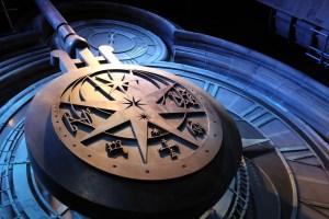 hogwarts clock at angle