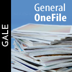 Gale General One File - find more than 12,000 digital titles and over 80 million records in Gale's largest general interest resoucre.