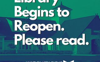 Library Begins to Reopen