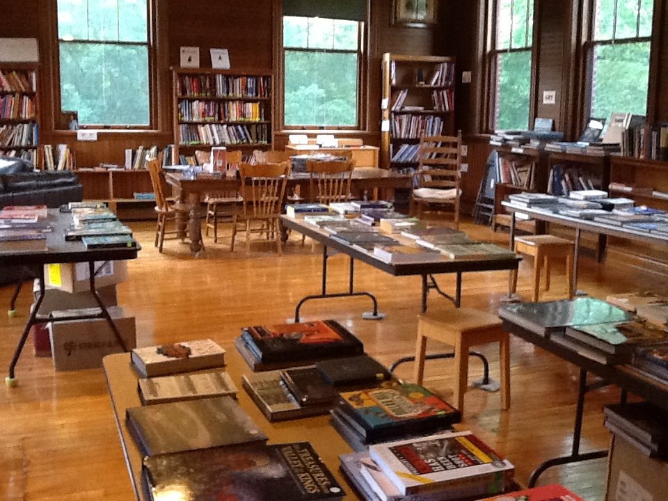 Upstairs Downstairs Monthly Book Sale